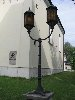Warsaw, St. Kathrine Church, a lamp post - design & workmanship.